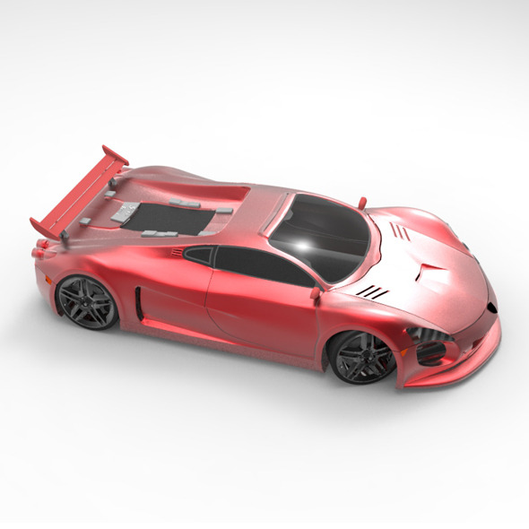 Concept Car Ferrari Velocita - 3DOcean Item for Sale