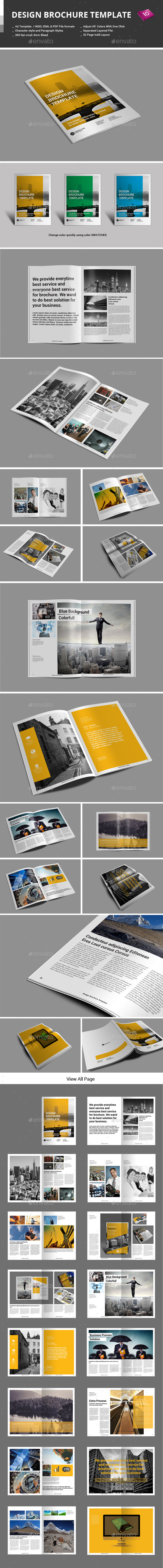 Design Brochure Template - Corporate Brochures