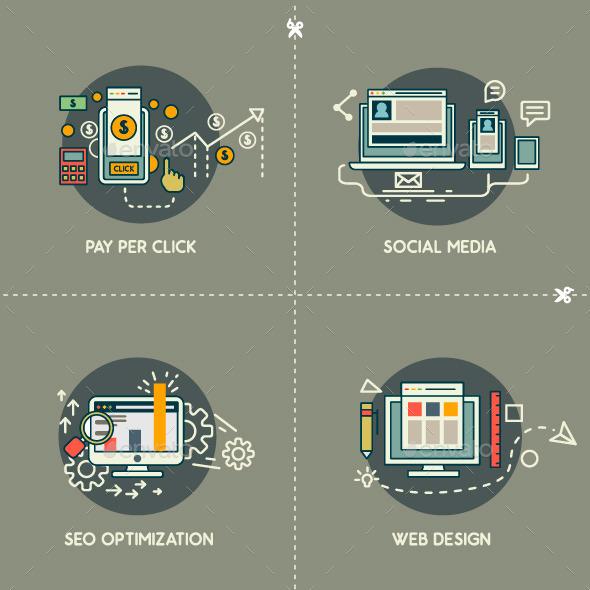 PayPerClick, Social Media, Web Design, SEO     - Web Technology