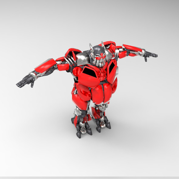 Autobot Leadfoot - 3DOcean Item for Sale