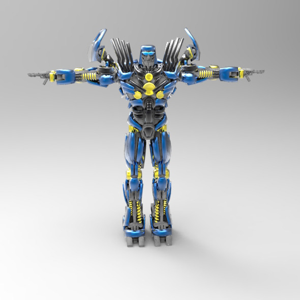 Autobot Topspin - 3DOcean Item for Sale