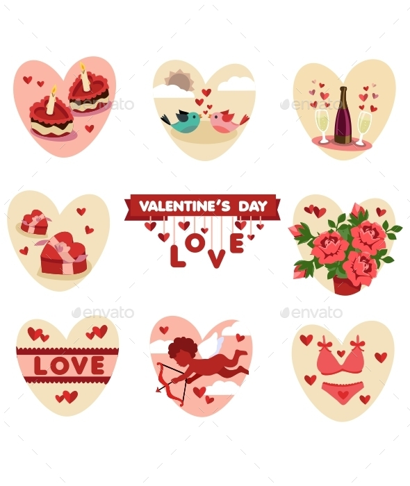 Valentine's Icons - Miscellaneous Conceptual