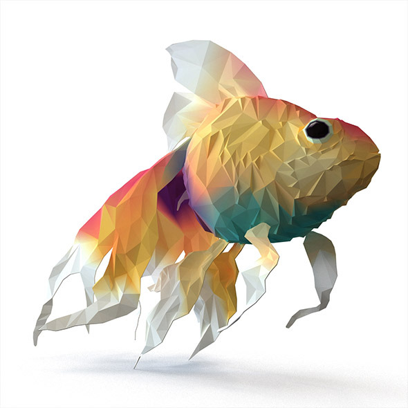 Fish - Flat Surface Shader - 3DOcean Item for Sale