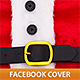 Santa Claus Belt Facebook Cover - GraphicRiver Item for Sale