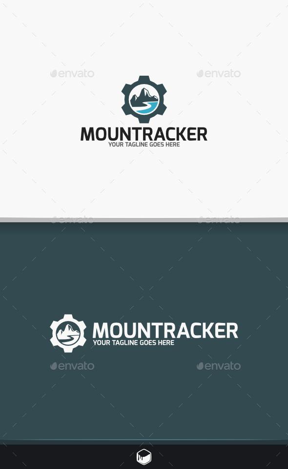 Mount Tracker Logo - Nature Logo Templates