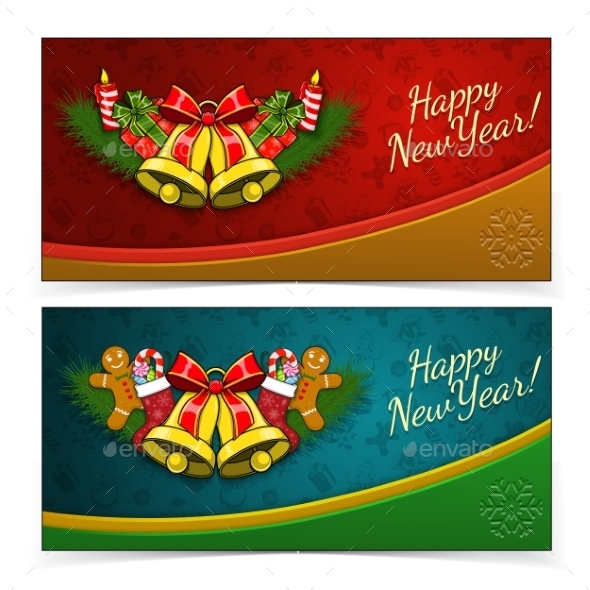 New Year Banners - New Year Seasons/Holidays