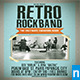 Retro Rockband Flyer - GraphicRiver Item for Sale