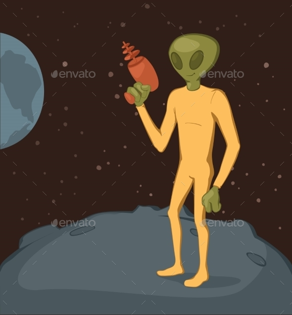 Green Alien - Miscellaneous Characters