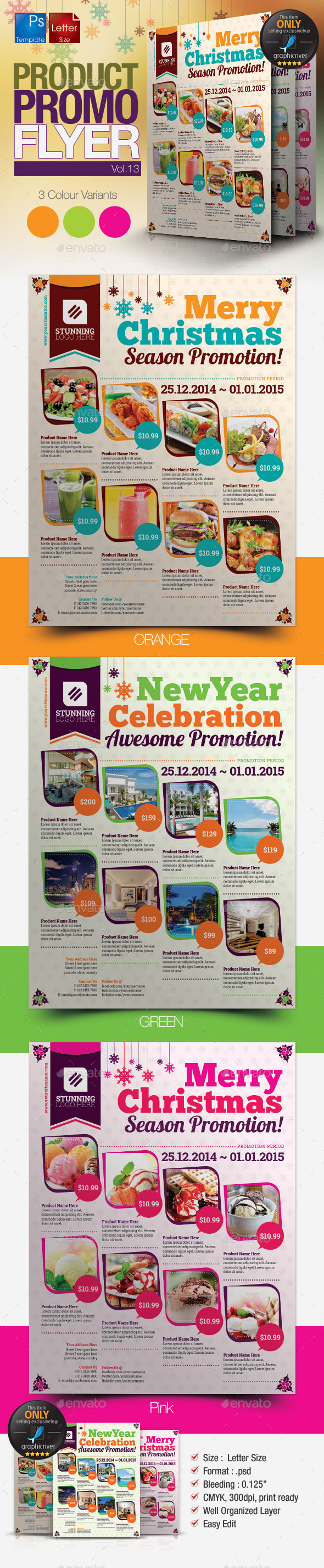 Multi-Purpose Product Promotion Flyer Vol.13 - Commerce Flyers