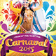 Carnival 2015 Flyer Template  - GraphicRiver Item for Sale