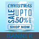 Banner Christmas Sale - GraphicRiver Item for Sale