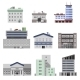Office Buildings Flat - GraphicRiver Item for Sale