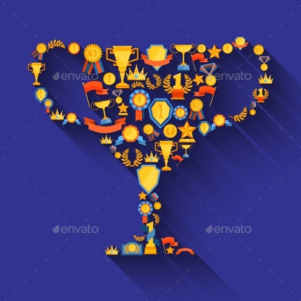 Award Decorative Icons - Decorative Symbols Decorative