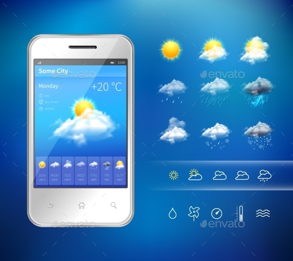 Mobile Weather Application - Technology Conceptual