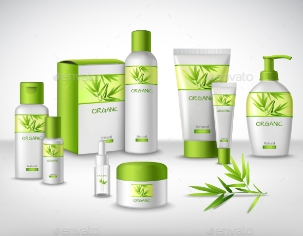 Cosmetics Decorative Set - Health/Medicine Conceptual
