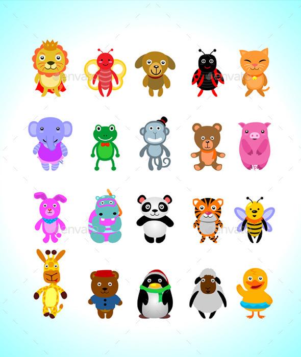 Animals Cartoon - Animals Characters