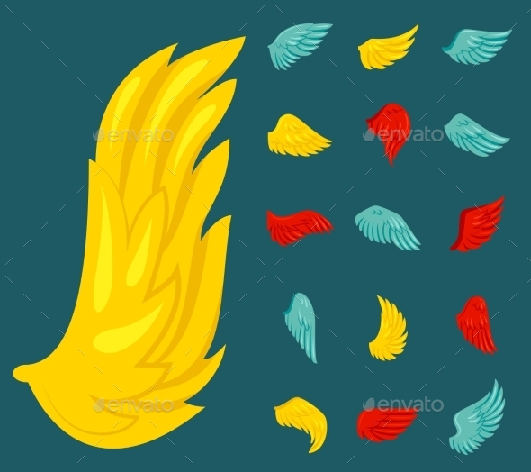 Wing Icons - Miscellaneous Vectors