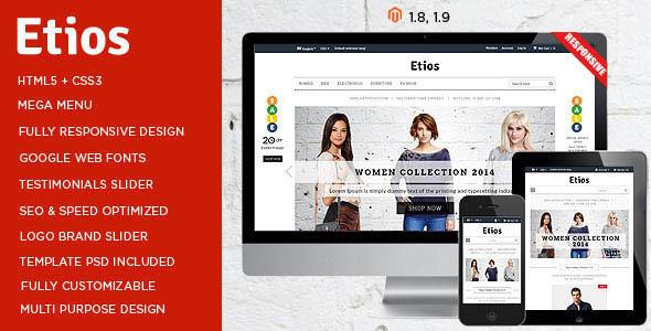 Etios – ULTIMATE Responsive Magento Theme