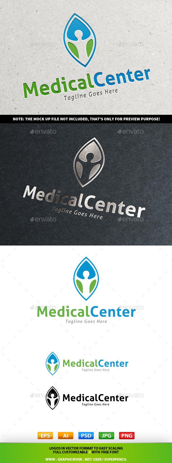 Medical Center Logo - Nature Logo Templates