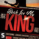Rock for My King Church Flyer - GraphicRiver Item for Sale