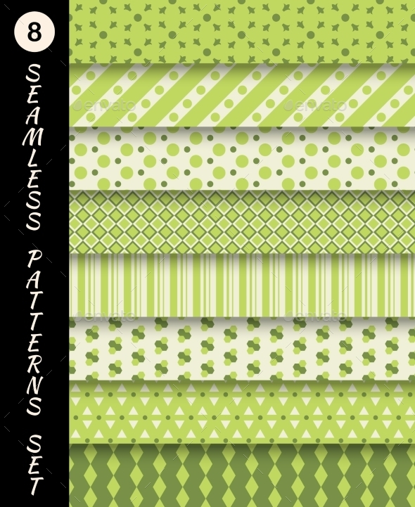 Seamless Patterns Set - Patterns Decorative