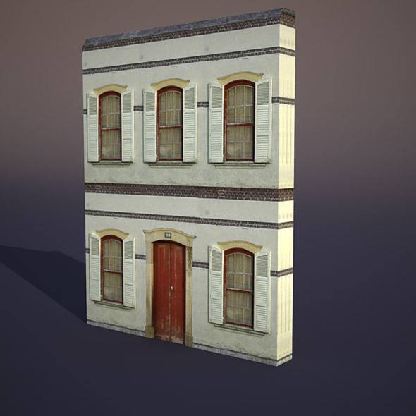 Apartment house #16 - 3DOcean Item for Sale