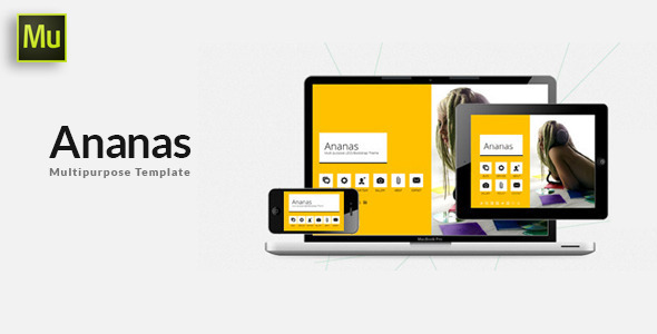 Ananas – Multi purpose Adobe Muse Template