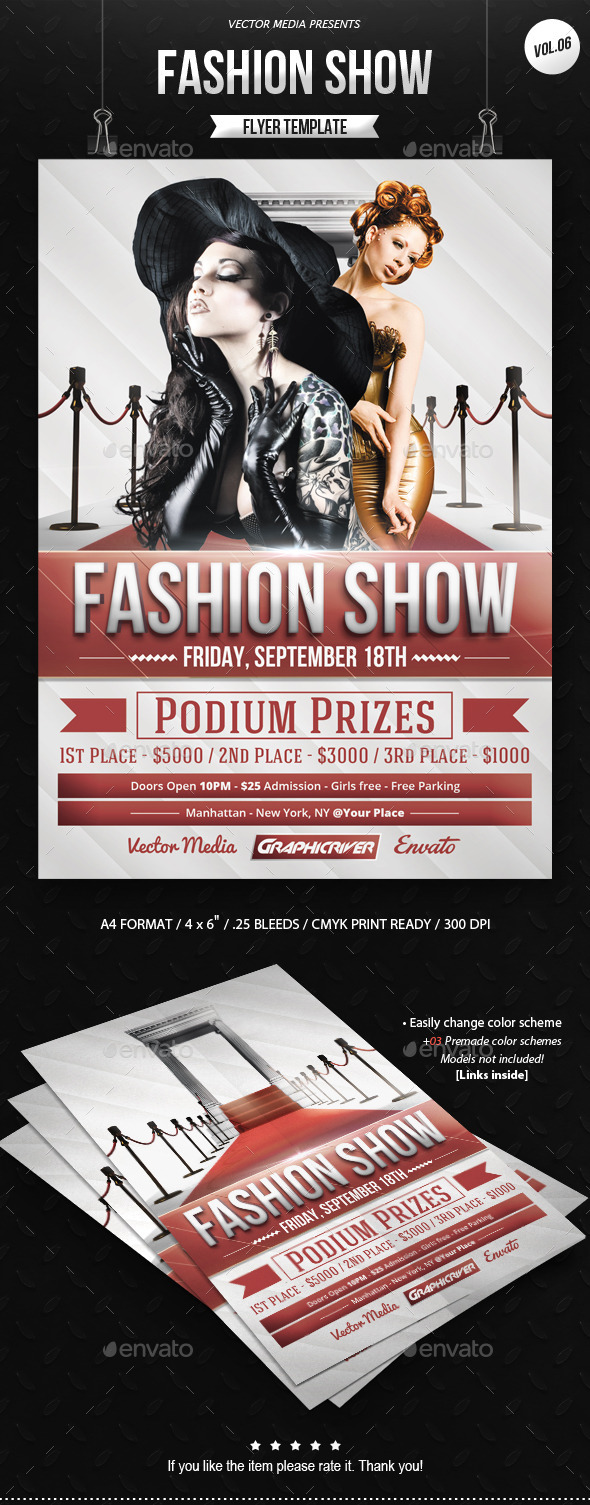 Fashion Show - Flyer [Vol.06] - Miscellaneous Events