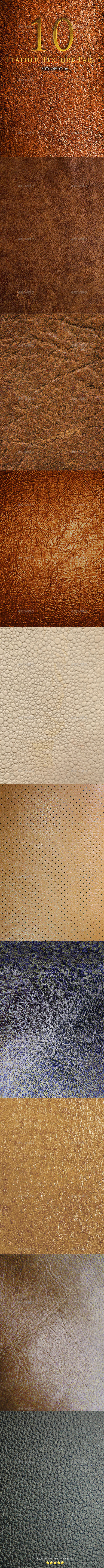 10 Leather Texture Part 2 - Textures