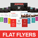 Flat Business Flyer - GraphicRiver Item for Sale