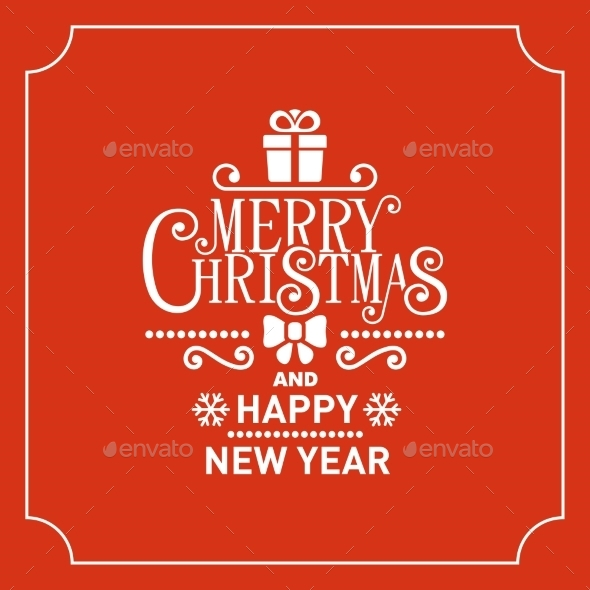 Red Christmas Greeting Card Background - Christmas Seasons/Holidays