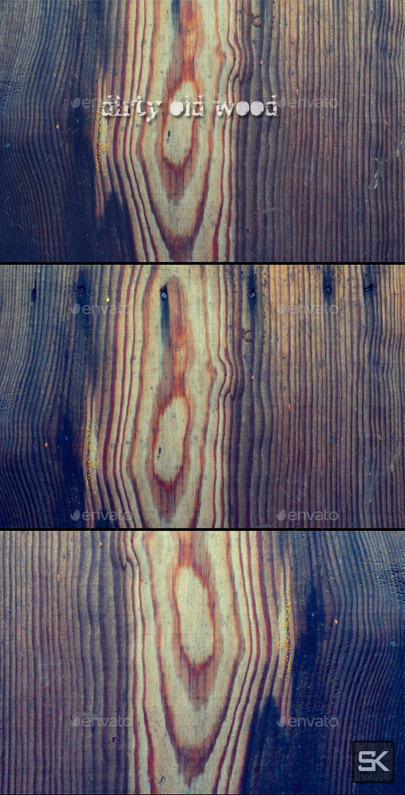 Dirty Old Wood - Wood Textures