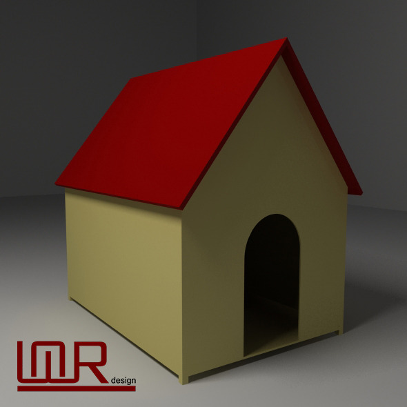 Kennel (low-poly) - 3DOcean Item for Sale