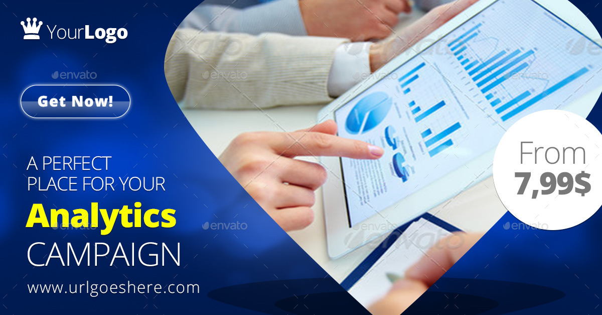 Analytics Campaign Web & Facebook Banners