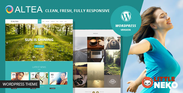 Altea | One Page WordPress Theme