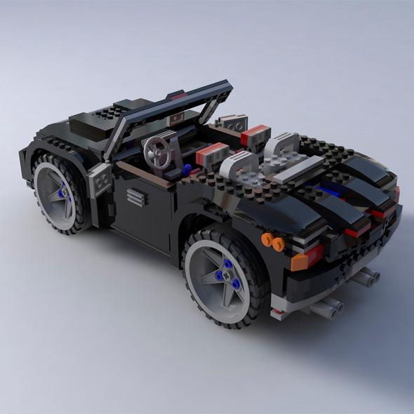 Lego car - 3DOcean Item for Sale