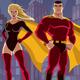 Superhero Couple 2 - GraphicRiver Item for Sale