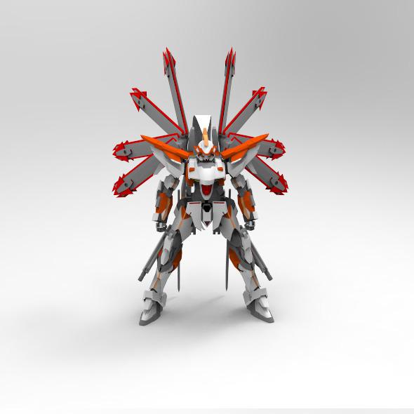 Helios Gundam - 3DOcean Item for Sale