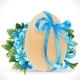 Egg Tied with a Blue Ribbon - GraphicRiver Item for Sale