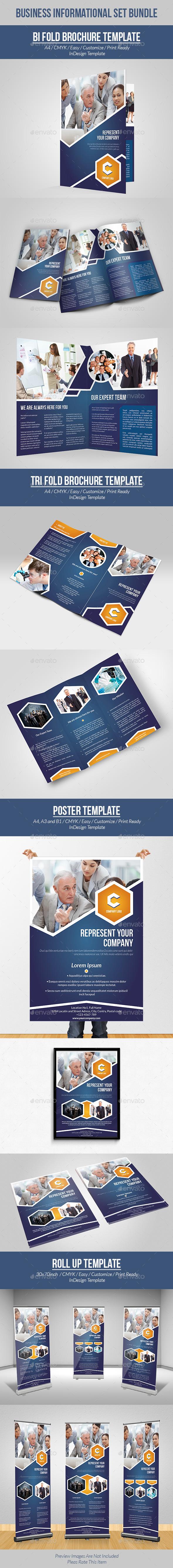 Business Informational Set Bundle - Informational Brochures