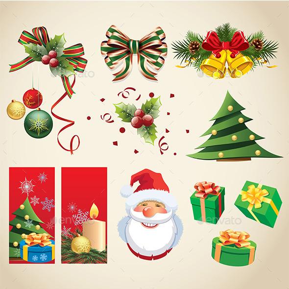 Christmas Themed Items Collection - Christmas Seasons/Holidays