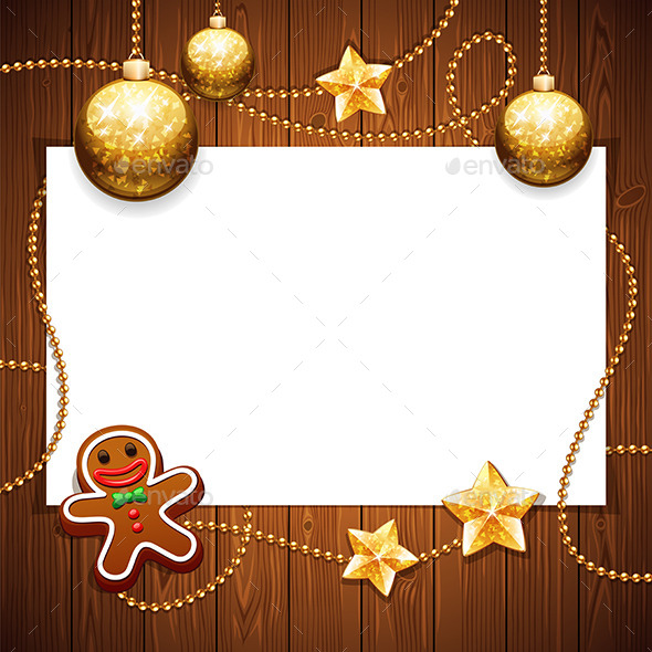 Christmas Background with Copy Space - Christmas Seasons/Holidays