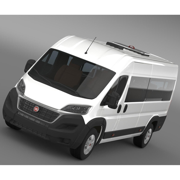 Fiat Ducato Scuolabus 2015 - 3DOcean Item for Sale