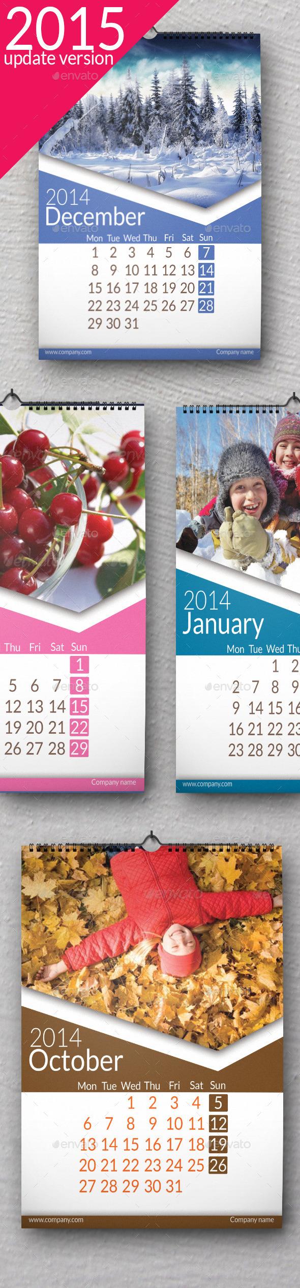 Wall Calendar 2015 Ultra - Calendars Stationery