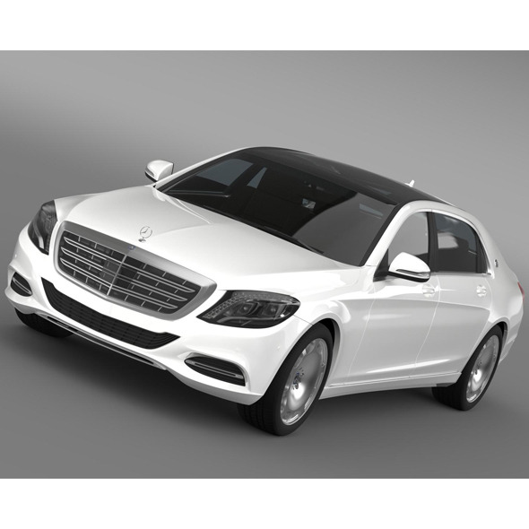 Mercedes Maybach S500 X222 2015 - 3DOcean Item for Sale