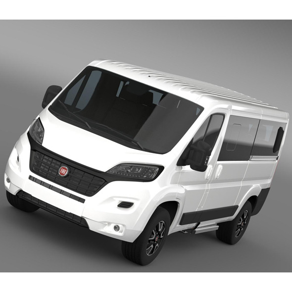 Fiat Ducato Panorama L2H1 2015 - 3DOcean Item for Sale