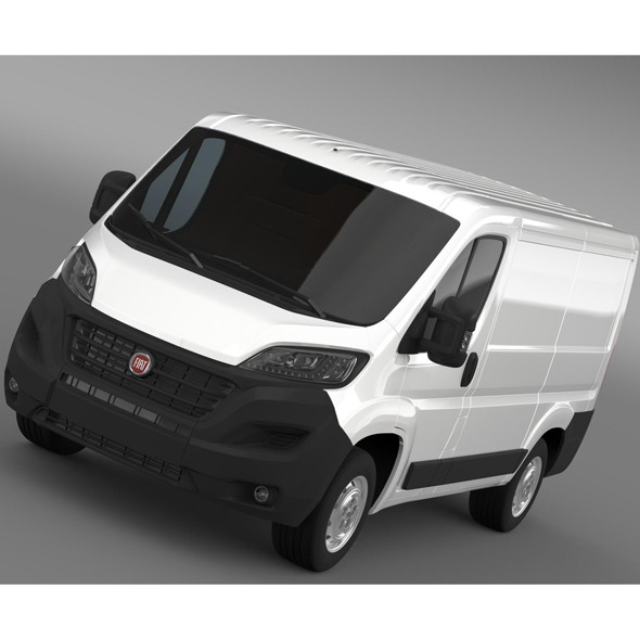 Fiat Ducato Van L1H1 2015 - 3DOcean Item for Sale