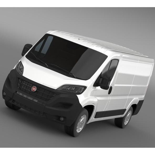 Fiat Ducato Van L2H1 2015 - 3DOcean Item for Sale
