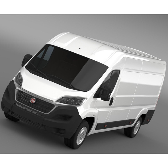 Fiat Ducato Van L4H2 2015 - 3DOcean Item for Sale