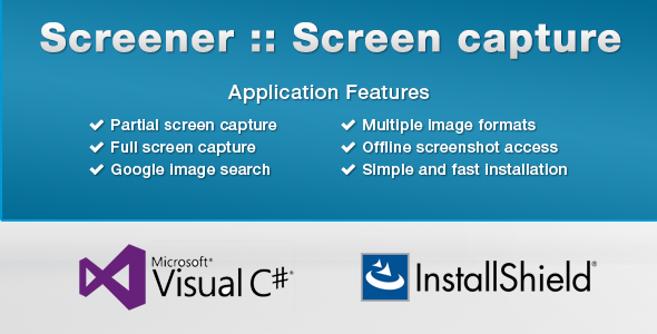Screener - Lightweight Screen Capture - CodeCanyon Item for Sale